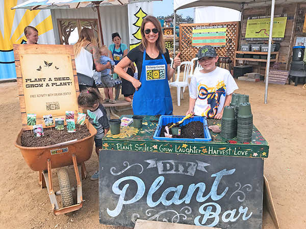 Solana Center - San Diego County Fair Planting Station